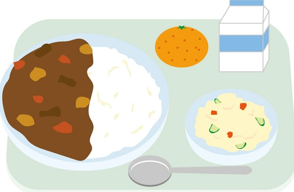 給食のカレー